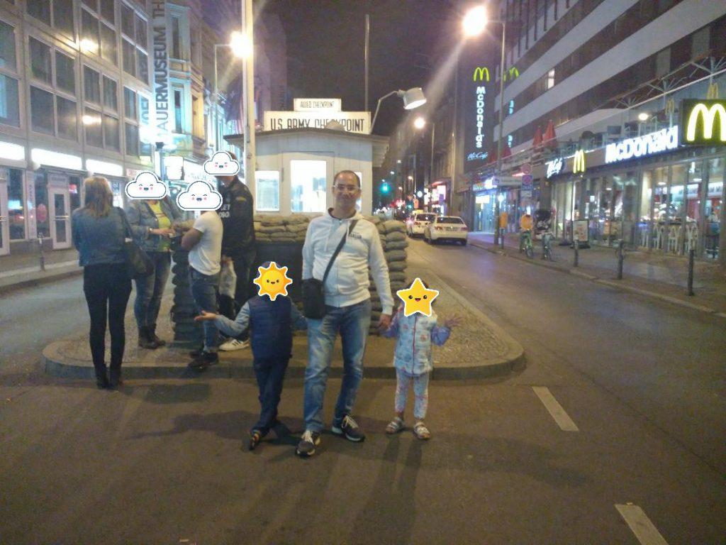 Berlino cosa vedere in tre giorni Checkpoint Charlie