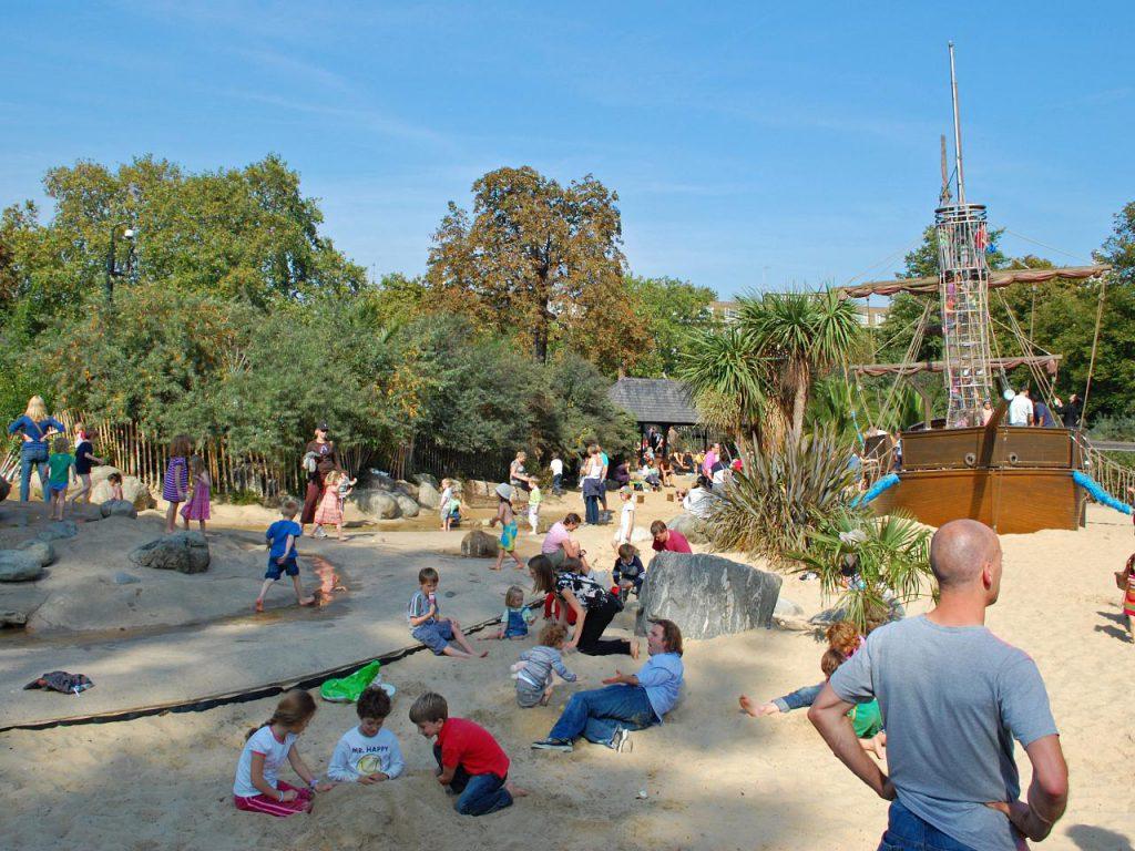 I giardini di Peter Pan a Londra