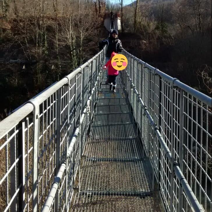 ponte sospeso a Mammiano