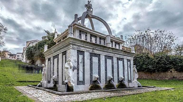 Sassari - La fontana del Rosello