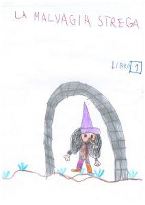 libro per bambini La malvagia strega