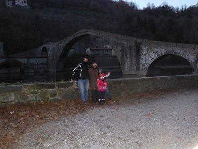 il ponte del Diavolo a Borgo a Mozzano