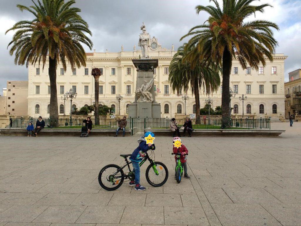 Sassari piazza d'Italia