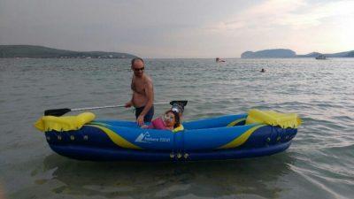 Spiaggia di Mugoni Alghero con bambini