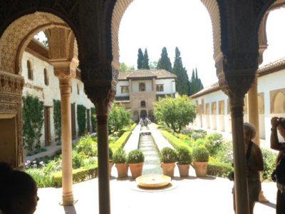 Granada Alhambra il Patio