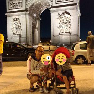 Parigi Champs Elysees
