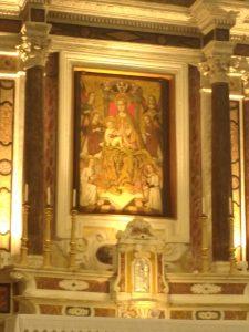 Cattedrale di Castelsardo Madonna in Trono col Bambino