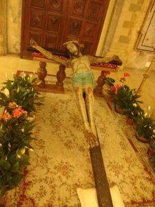 Cristo in croce a Castelsardo