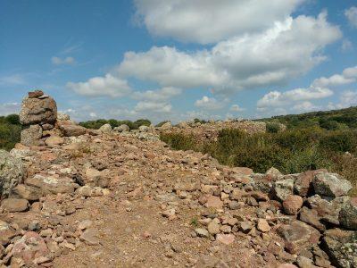 Sopra la muraglia di Monte Baranta