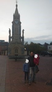 Clock tower a Tiverton - Devon con bambini