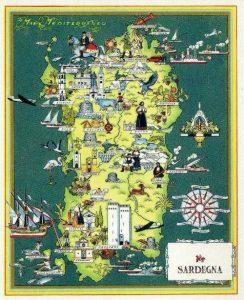 Cartina Sardegna Per Bambini.Cartina Della Sardegna Famigliainviaggio It