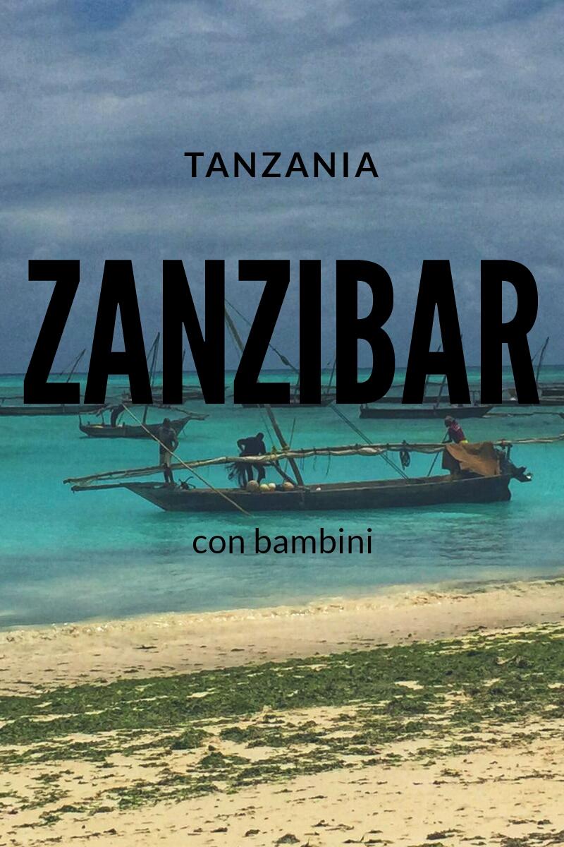 Zanzibar con bambini – Tanzania