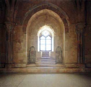 Castel del Monte sala del trono