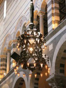 Lampada di Galileo Pisa con i bambini