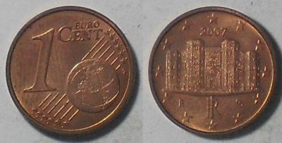Castel del Monte in un centesimo