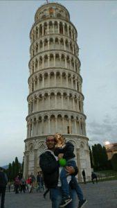 Pisa con bambini Torre di Pisa