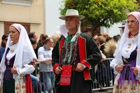 costume sardo da uomo Teulada