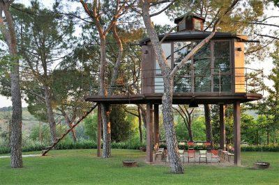 Casa sull'albero per bambini in Toscana Casa Barthel