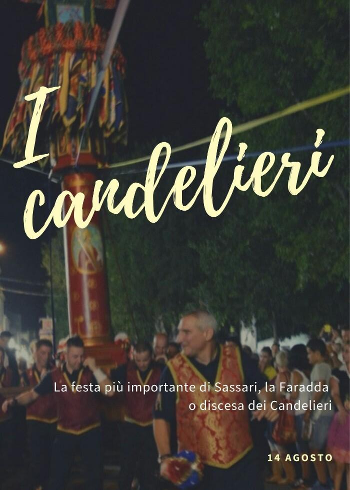 I candelieri: la festa della Faradda di li candelieri a Sassari