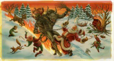 Krampus vs Santa