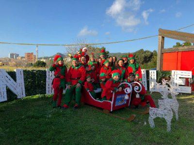 Il villaggi di Babbo Natale in Sardegna