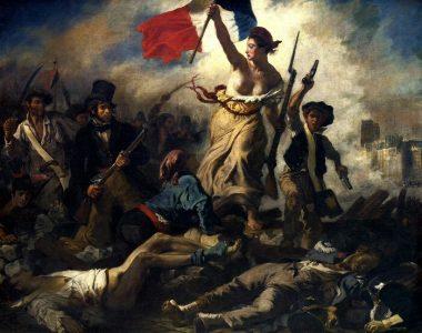 """""""La Libertà che guida il popolo"""" di Eugène Delacroix"""