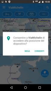 ViaMichelin dispositivo