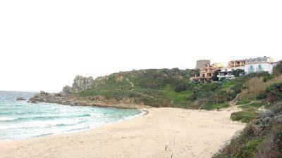 La spiaggia di Rena Bianca a Santa Teresa di Gallura Sardegna