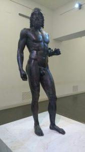 Bronzi Riace statua a