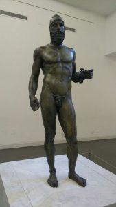 Bronzi Riace statua b