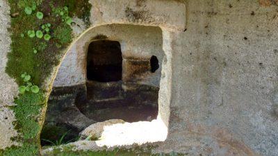 La necropoli di Moseddu tomba xvi