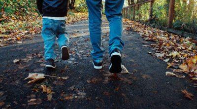 Festa del papà camminare insieme