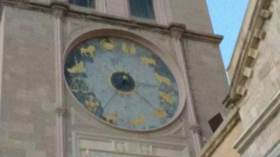 messina orologio astronomico