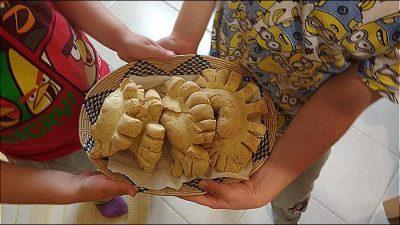 pane coccoi fatto in casa